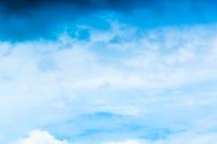 Himmel-Natur-Landschaftshintergrund Lizenzfreies Stockbild