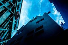 Himmel oben oben Lizenzfreie Stockbilder