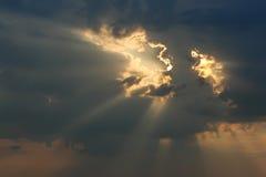 Himmel- och åskamoln Arkivbild