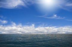 Himmel och hav Royaltyfria Bilder