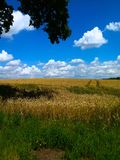 himmel och jord Arkivbild