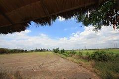 Himmel och moln i Thailand Arkivfoto