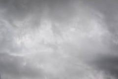 Himmel- och molnstormbakgrund Royaltyfri Foto