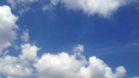 Himmel- och molntimelapse arkivfilmer