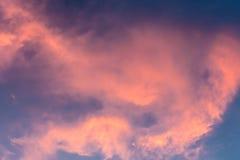 Himmel på skymning Royaltyfria Bilder