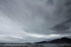 Himmel på stranden Royaltyfri Foto