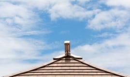 Himmel på taket Arkivfoto