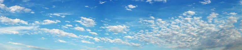 Himmel-Panorama stockfotos