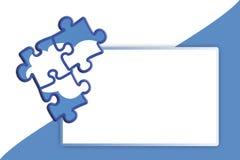 Himmel-Puzzlespiel-Hintergrund Lizenzfreie Stockbilder