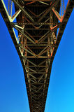 Himmel-Reißverschluss lizenzfreie stockfotografie