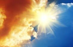 Himmel till guden Arkivbild
