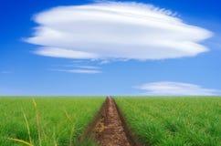 himmel till långt Arkivfoton