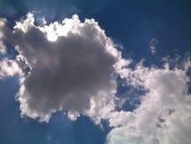 himmel till långt Arkivfoto