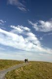 himmel till walkwayen Royaltyfri Foto
