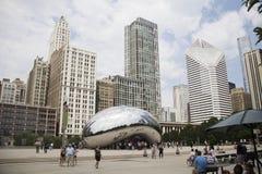 Himmel-Tor in Chicago Stockfotos