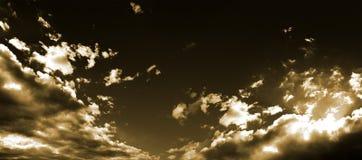 Himmel u. Wolken stock abbildung