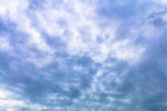 Himmel und bewölktes zu kreativem für Design und Dekorationsisolat lizenzfreie stockfotos