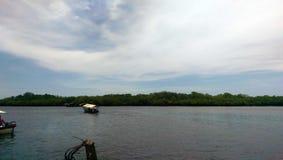 Himmel und Boote Lizenzfreie Stockbilder