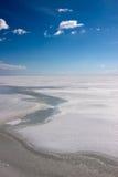 Himmel und Eis Lizenzfreies Stockfoto