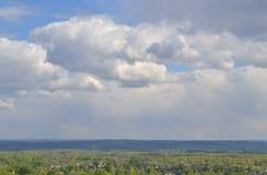 Himmel und Erde Lizenzfreies Stockfoto
