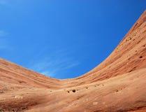Himmel und Felsen lizenzfreie stockbilder