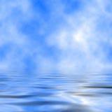 Himmel und Meer vektor abbildung