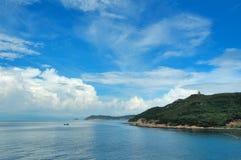 Himmel und Meer Lizenzfreies Stockbild