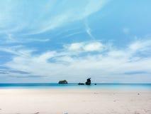 Himmel und Meer Lizenzfreies Stockfoto