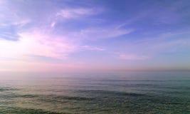 Himmel und Meer Stockfoto