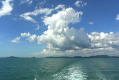 Himmel und Meer Stockbild