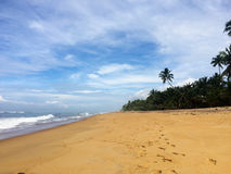 Himmel und Ozean Lizenzfreies Stockbild