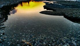 Himmel und Wasser Stockfoto