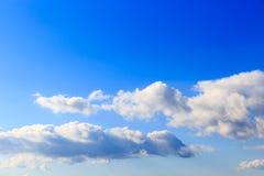 Himmel und Wolke Stockfotos