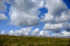 Himmel und Wolken Stockfotos