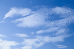 Himmel und Wolken Lizenzfreies Stockfoto