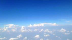 Himmel und Wolken stock footage