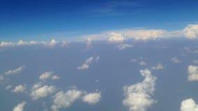 Himmel und Wolken stock video