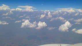 Himmel und Wolken stock video footage