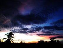 Himmel und Wolken bei Thailand Stockbild