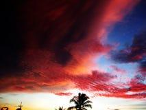 Himmel und Wolken bei Thailand Lizenzfreies Stockbild