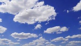 Himmel und Wolken Geschossen auf Kennzeichen II Canons 5D mit Hauptl Linsen stock video footage