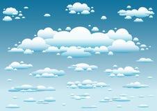 Himmel- und Wolkenhintergrund