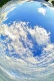 Himmel unter meinen Füßen Stockbild
