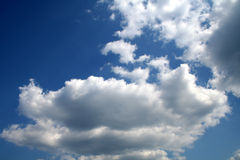 himmel upp Royaltyfri Bild