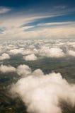 Himmel vom Flugzeug Lizenzfreies Stockbild