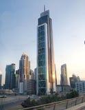 Himmel von Dubai lizenzfreie stockfotografie
