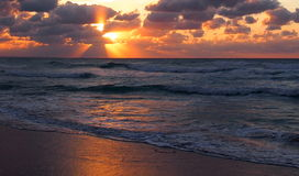 Himmel von Kuba Stockbild
