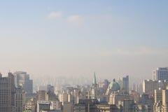 Himmel von Sao Paulo Lizenzfreies Stockbild