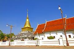 Himmel Wat Phra That im Freien Lizenzfreie Stockbilder
