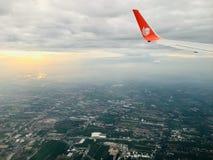 Himmelansicht stockfotografie